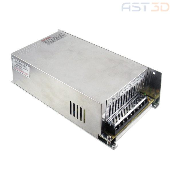 Блок питания 48В 600Вт 12,5А DC стабилизированный импульсный (металл, ЧПУ)