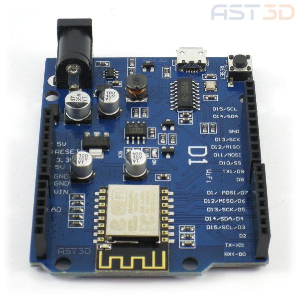 Arduino UNO WIFI, R3 CH340G/ATmega328p ESP8266 (Micro-USB)