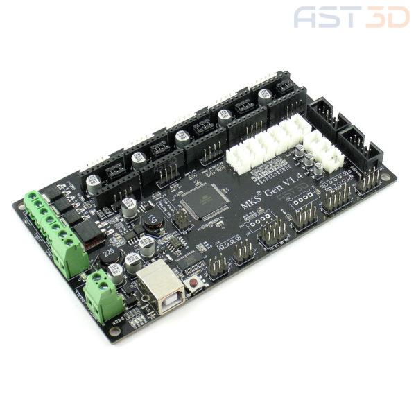 Плата управления 3D принтером MKS-Gen v1.4 МКС (Arduino Mega)