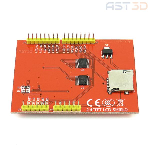 Сенсорный экранный модуль TFT 2,4″ Arduino UNO