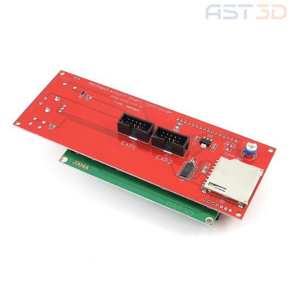 Экран 3D принтера LCD 2004 (поддержка RAMPS)