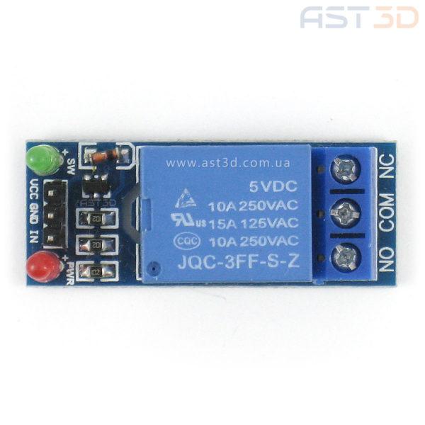 Модуль реле 1-канал (Arduino, электроника 3D принтеров и ЧПУ)
