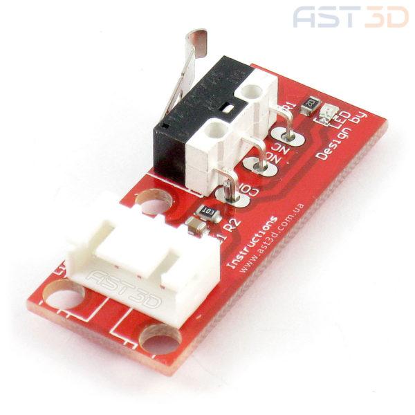 Концевой выключатель 3D принтера (механический на плате с кабелем)