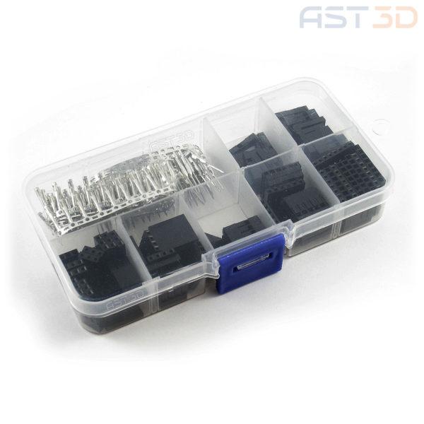 Набор клемм 2,54мм 1 – 8 pin (300 шт) для электроники и Arduino Dupont разъем