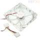 Вентилятор 120мм (120х120х25мм) 12В, прозрачный корпусной