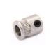 Прижимной ролик шестерня 5/9 мм для подачи пластика 3D принтера (белый)
