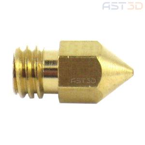 Сопло 3D принтера – Middle – 0,2/0,3/0,4/0,5 мм (средний конус, латунь)