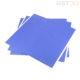 Термостойкий лист стола 3D принтера, (лента, синий 200*210 мм)