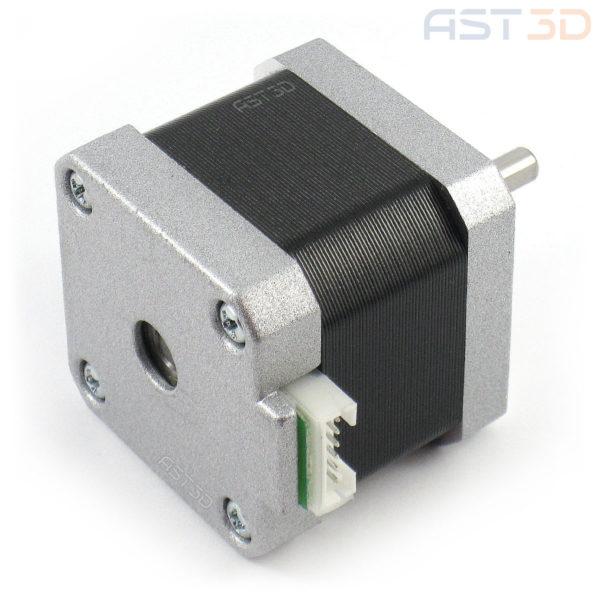 Шаговый двигатель Nema 17 17hs4401 1,7А 40мм (с разъемом 4pin) для ЧПУ, 3D принтера, лазерного гравера
