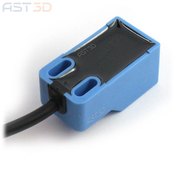 Концевой выключатель индуктивный датчик приближения SN04-N 4мм DC 10-30В (синий, NPN NO концевик)