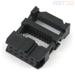 Разъем FC-10P инвертора ЧПУ IDC 10 pin 2х5