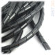 Спиральная обвязка проводов, обмотка кабеля – Черная