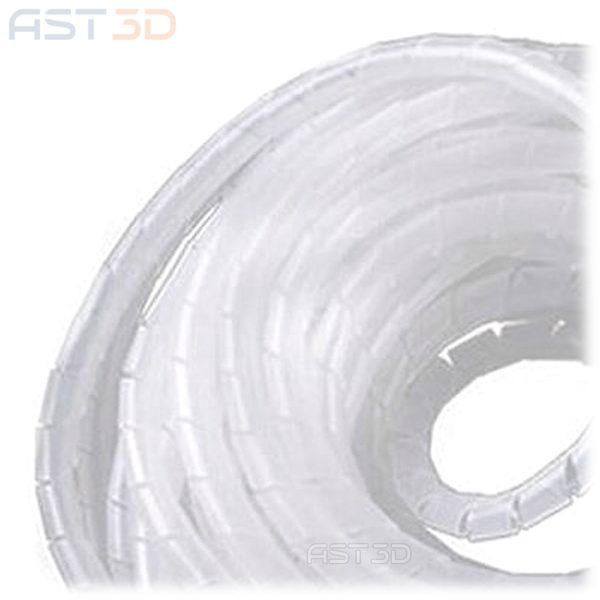 Спиральная обмотка проводов, гибкая обвязка кабеля – Прозрачная