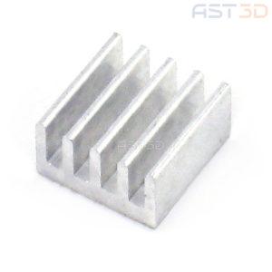 Радиатор алюминиевый 10х10 мм A4988 Drv8825 (контроллеры, чипы)