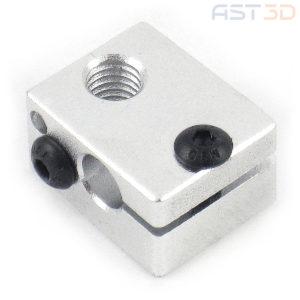 Нагревательный блок экструдера E3D v6 (алюминиевый)