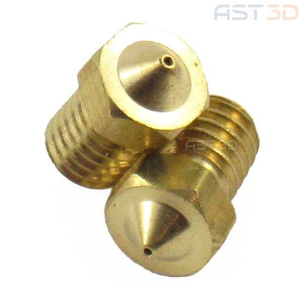Сопло 3D принтера – Classic – 0,2/0,3/0,4/0,5 мм (латунь)
