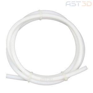 Трубка фторопластовая (тефлоновая) для подачи пластика 1,75мм (4мм)
