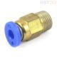 Штуцер PC4-01 крепление PTFE трубки 3D принтера 4мм-М10 (фитинг)
