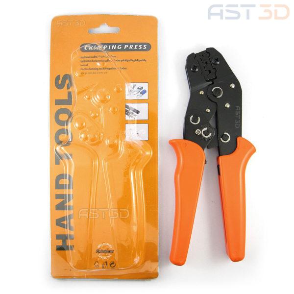 Клещи RK-28b инструмент обжатия клемм 0,25-1мм кв. (оранж.)