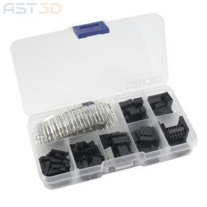 Набор клемм 2,54мм 1-8 pin 300 шт Dupont (для электроники и Arduino)