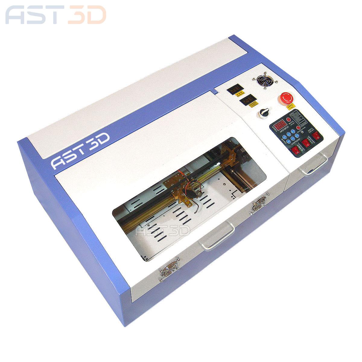 Лазерный станок 40Вт CO2 AST3D 0302 (3020) купить Киев, Запорожье, Днепр, Харьков