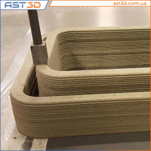 3D печать бетона, новости новинки 3D печати в Украине и всем мире