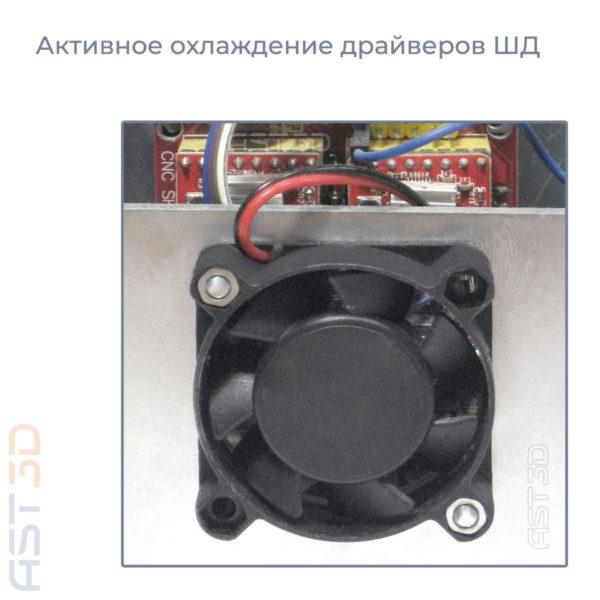 ЧПУ фрезерный станок AST3D 1414 RIO (настольный, стальная рама) купить Одесса, Львов, Ровно, Херсон, Хмельницкий
