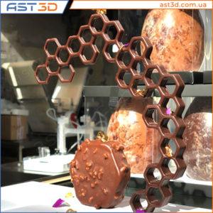 3D печать еды, новости 3D печати в Украине