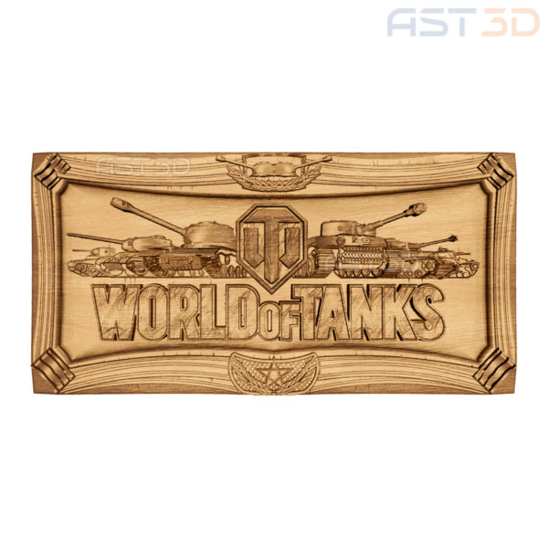 "3D Модель WOT для ЧПУ ""World of Tanks"" (компьютер) в Украине"