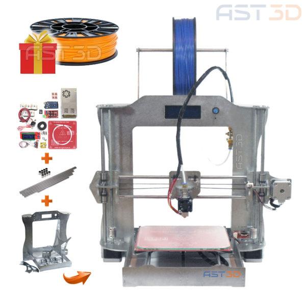 3D принтер Prusa i3 Steel PRO - набор для самостоятельной сборки от AST3D (сделай сам)