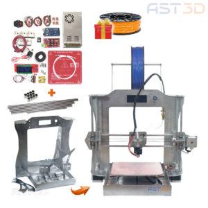 3D принтер Prusa i3 Steel PRO – набор для самостоятельной сборки от AST3D (сделай сам)