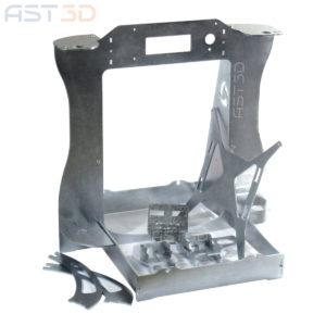Рама корпус 3D принтера Prusa i3 Steel PRO от AST3D (для самостоятельной сборки)