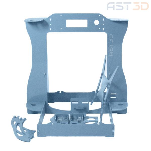 Рама 3D принтера Anet A6 – корпус Steel PRO от AST3D (Анет а6/а8, светло синий цвет) купить в Украине