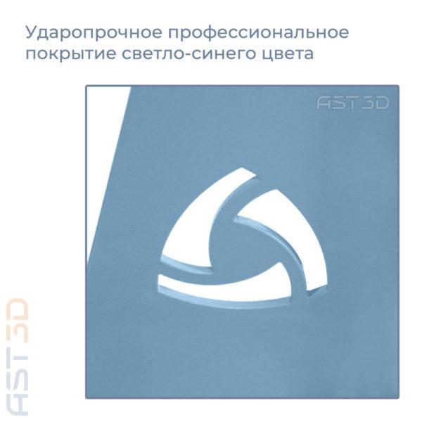 Рама 3D принтера Anet – корпус Steel PRO от AST3D (Анет а6/а8, светло синий цвет) купить Украина ,Россия, Беларусь