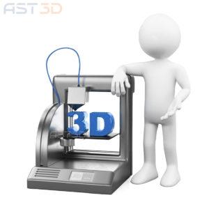 3D печать детали по 3D модели – ABS пластик
