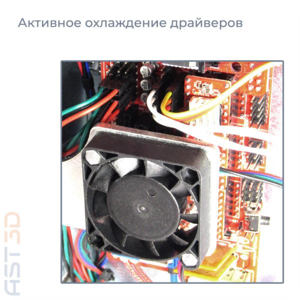 3D принтер Anet A6 Steel PRO от AST3D Украина (светло-синий, стальная рама, Анет А8)