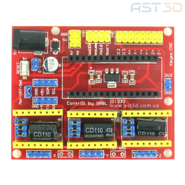 Модуль ЧПУ 3 поколения для Arduino Nano (управление ЧПУ, лазерным гравером)