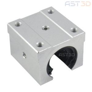 Линейный подшипник открытый SBR16UU 16мм (каретка, блок для вала на опоре)