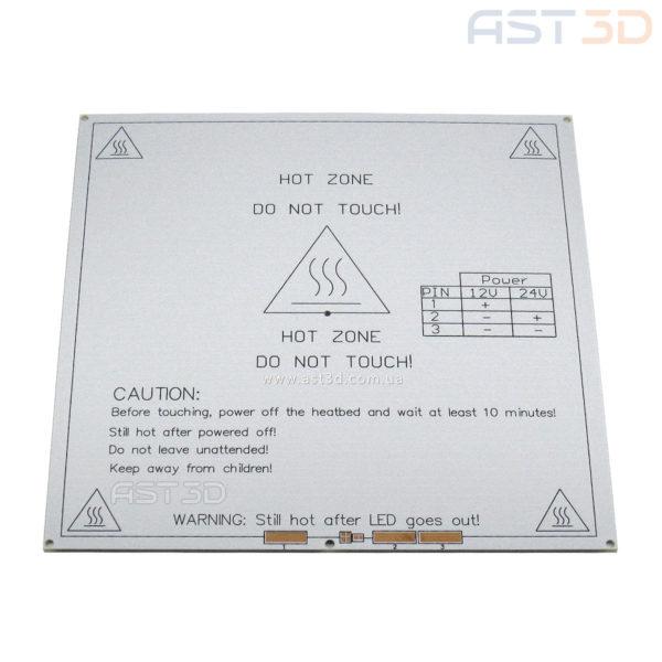 Нагревательный стол 3D принтера MK2B 214*214 мм 12/24 В (HeatBed белый)