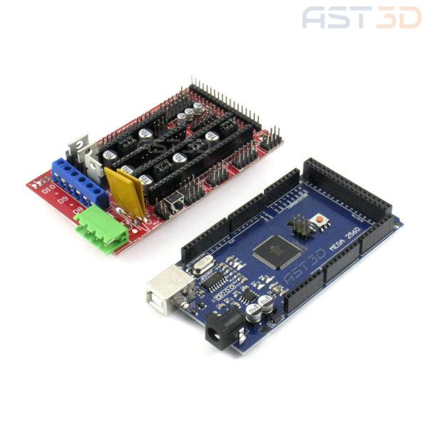 Arduino Mega и RAMPS - комплект (для управления 3D принтером)