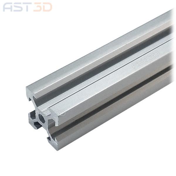 Профиль алюминиевый 20х20 V-слот (конструкционный, анодированный)