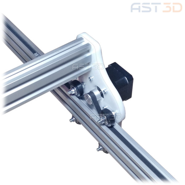 Набор акриловых пластин для корпуса лазерного гравера (детали, профиль 2040)