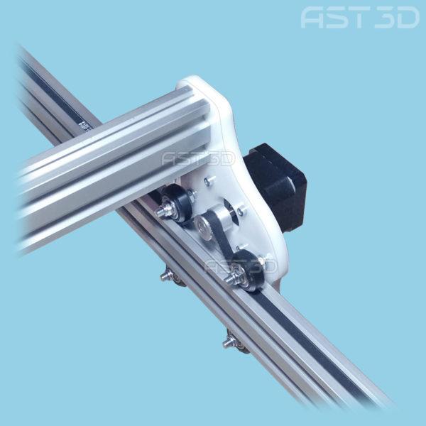 Пластиковые детали лазерного гравера (сборка своими руками, алюминиевая рама)