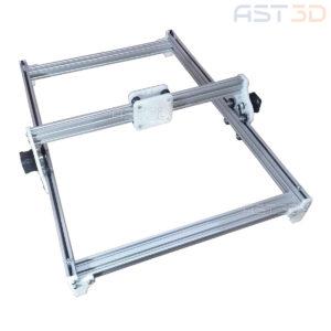 Корпус лазерного гравера – открытый алюминиевый (полный набор механики и ШД, рама лазера)