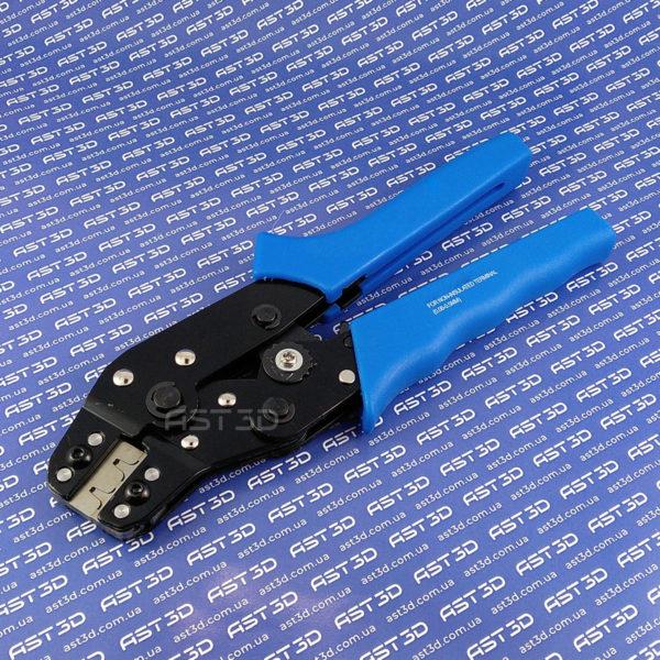 Клещи обжимные RK-01bm клеммы 0,08-0,5мм кв. (микро клеммы XH, Dupont) AST3D Украина