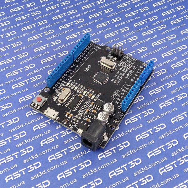 Arduino UNO R3 CH340G/ATmega328p (Micro-USB) - AST3D Украина, Запорожье
