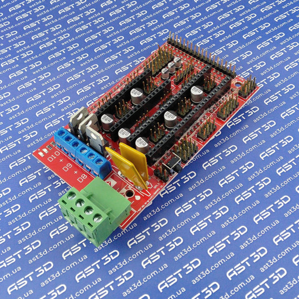 Плата управления 3D принтером RAMPS 1.4 (Arduino Mega) - AST3D Украина, Запорожье