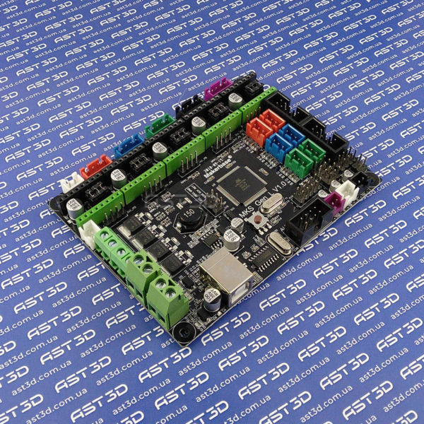 Плата управления 3D принтером MKS-Gen v1.0 / v1.4 МКС (Arduino Mega) - AST3D Украина, Запорожье