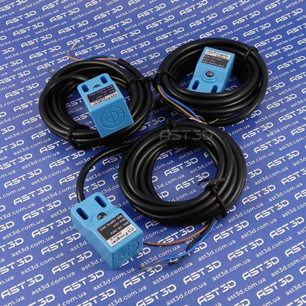 Индуктивный датчик приближения SN04-N 4мм DC 10-30В (синий, NPN/PNP NO/NC) - AST3D Украина, Запорожье