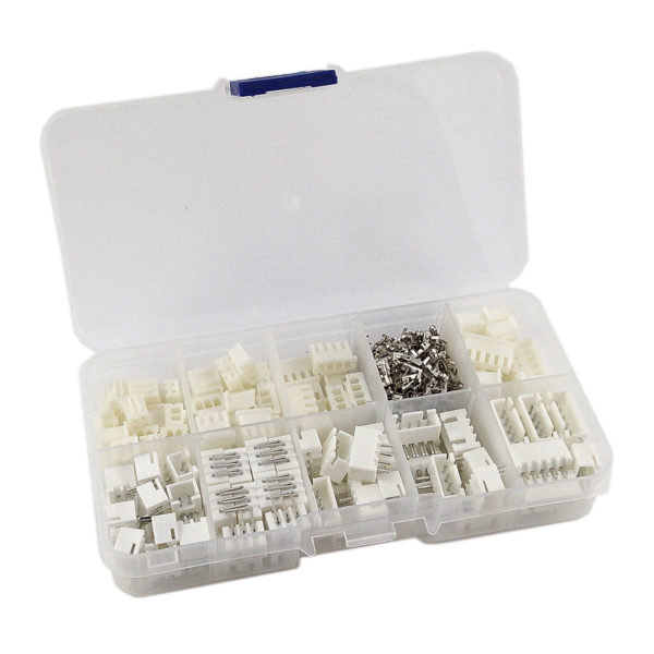 Набор клемм XH 2,54мм 2 - 5 pin (230 шт) для электроники ЧПУ и Arduino